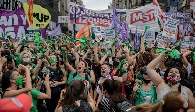 Argentina aprobó la ley del aborto