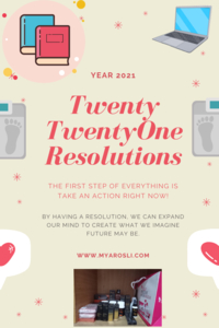 2021 Resolutions