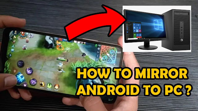 Android Screen to PC
