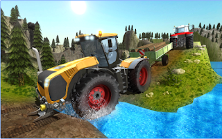 Game Tractor Driver Transporter 3D App