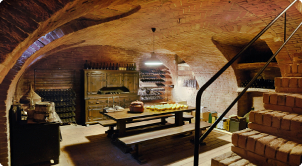 This Cob House Root Cellar
