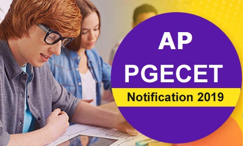 Andhra Pradesh PGECET Notification 2019