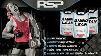 RSP AminoLean Năng Lượng Gym Đỉnh Cao