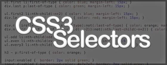 css3 selectors