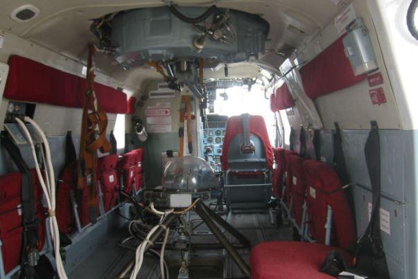 Kamov Ka-32A11BC interior