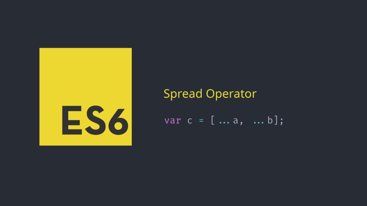 Spread three dots ... operator in javascript   livescript