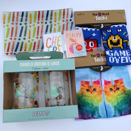 Toe of a Kind Socks Hallmark Has Great Back To School Supplies ~ #Review #LoveHallmark