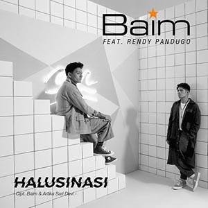 Chord Kunci Gitar Halushinasi Baim feat Rendy Pandugo