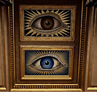 Two eyes from Blenheim Palace