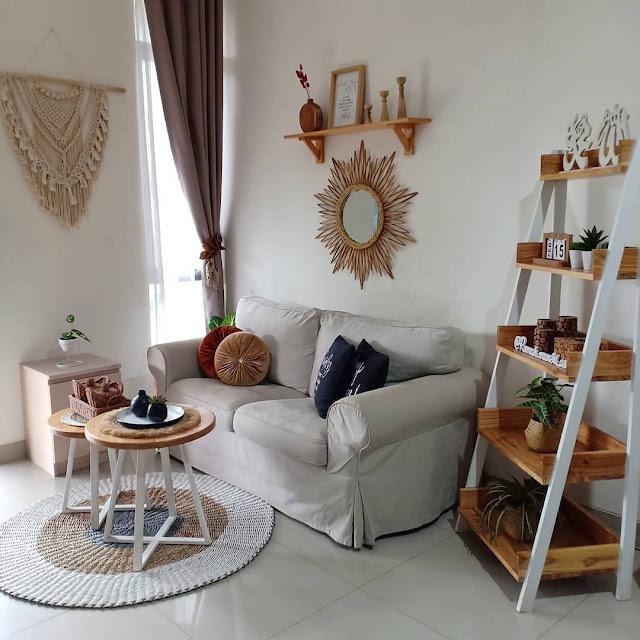 Ruang Tamu dengan Desain Sederhana Namun Mewah