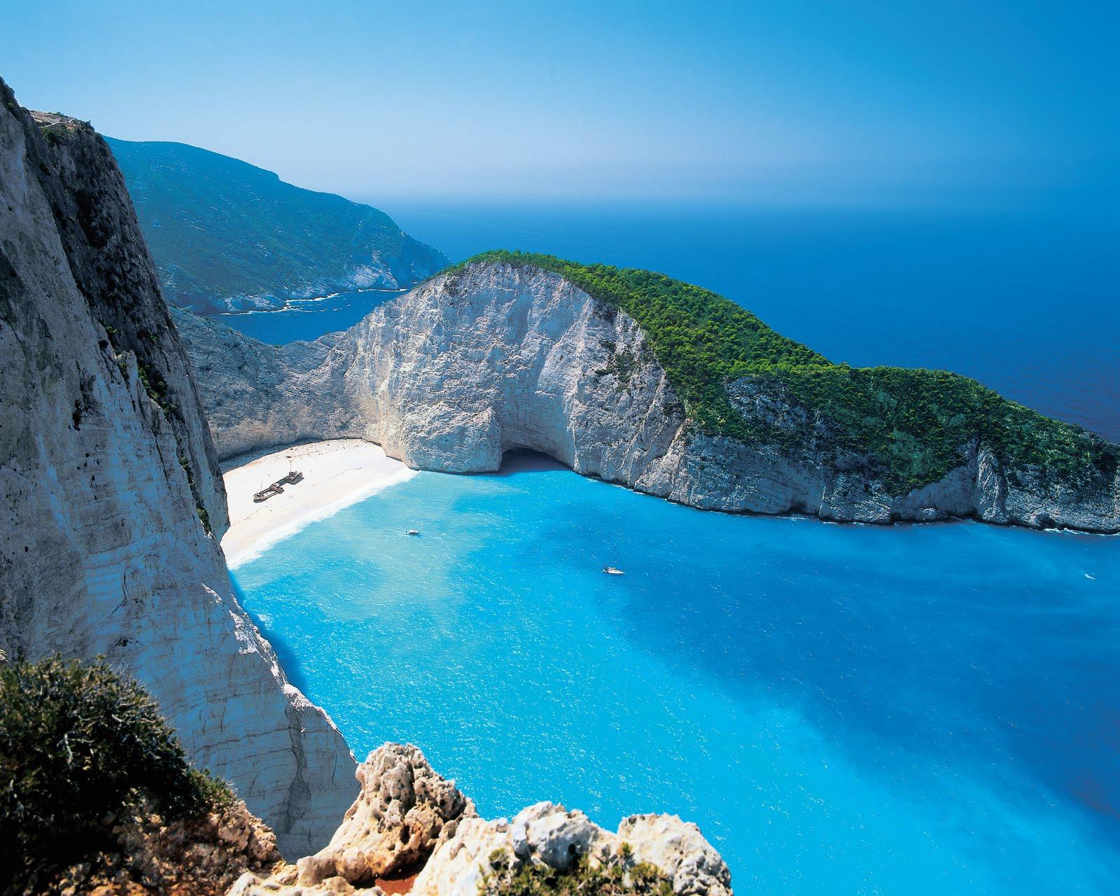 Best Beach In Europe Navagio Zakynthos Zante Greece