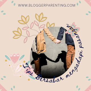 Tips Bersabar Menghadapi Pasangan