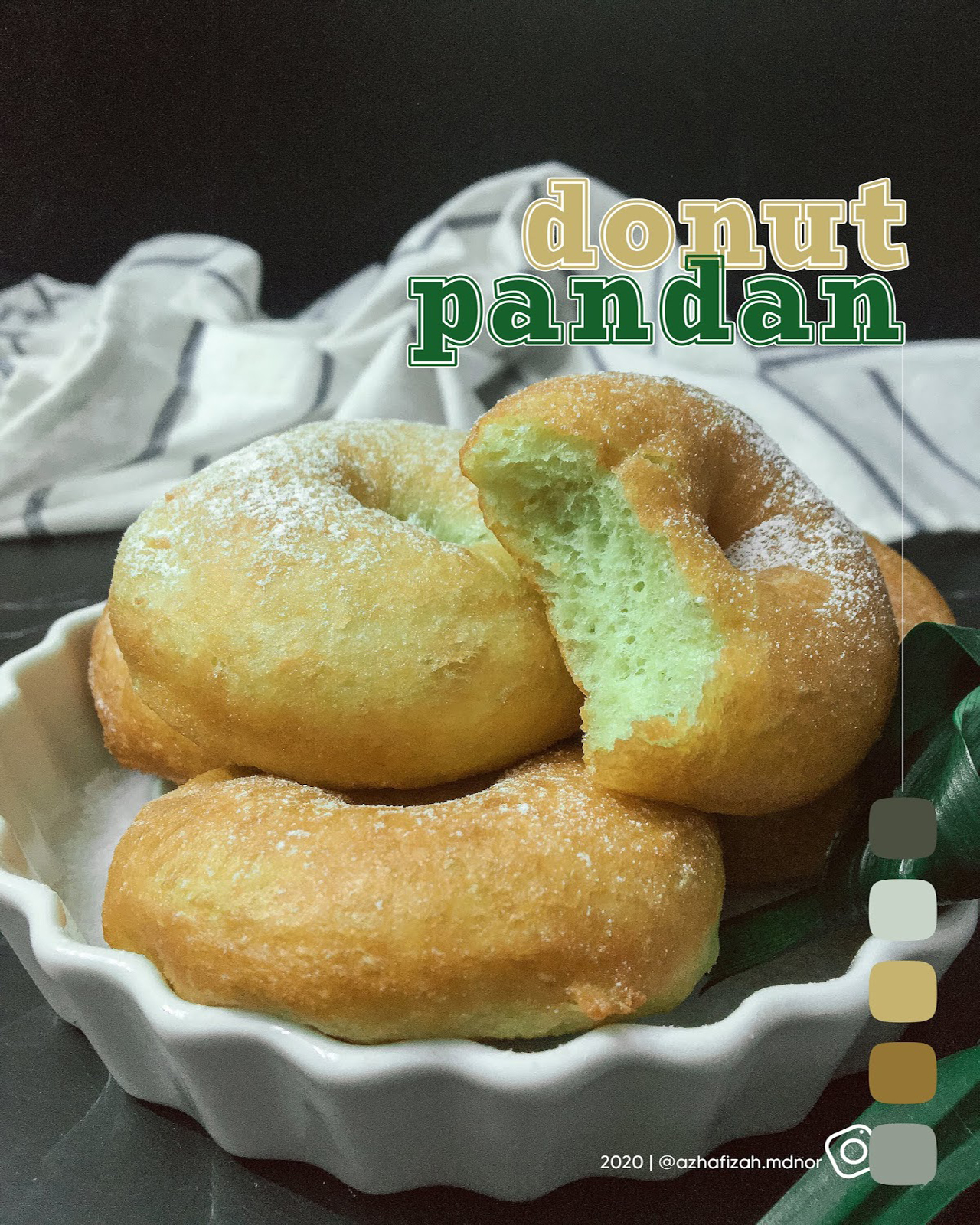 Donut Pandan