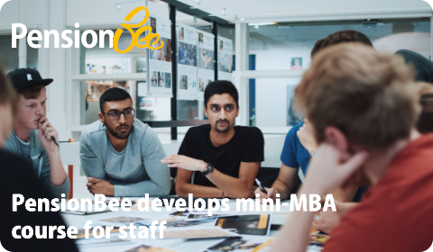 PensionBee develops mini-MBA course for staff