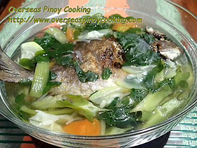 Dinengdeng with Inihaw na Isda Recipe