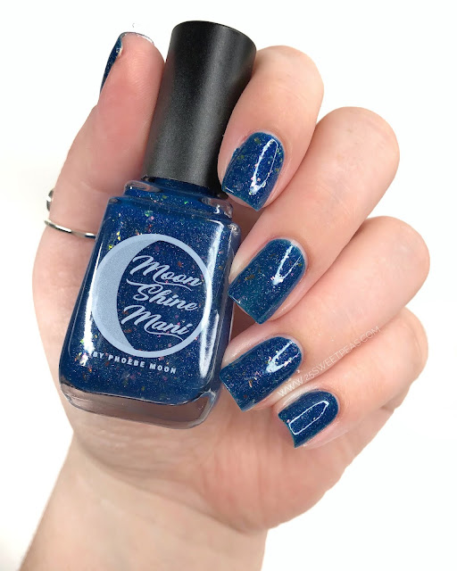 Moon Shine Mani Mrs. Peacock 25 Sweetpeas