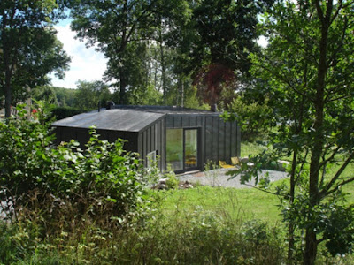Small prefab guest house