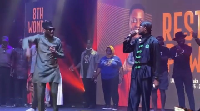 For The First Time Since Their Split, Plantashun Boiz perform together on stage