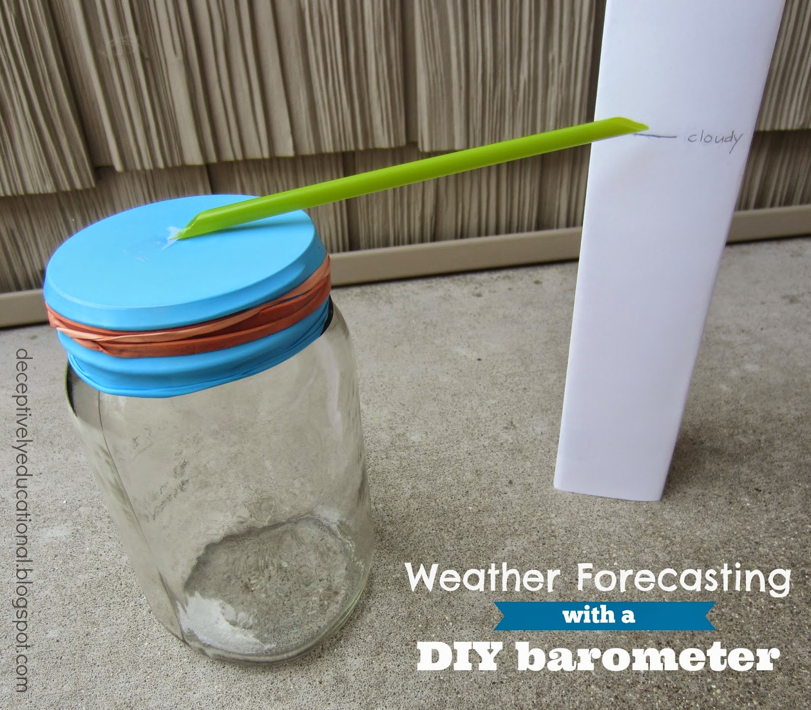 Weather Forecasting With A Diy Barometer