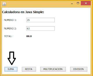 Calculadora en Java Simple (NetBeans)
