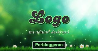 Menambahkan Kalimat Deskripsi di Logo Blog