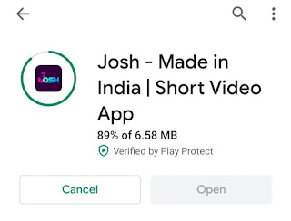josh app me video kaise download kare