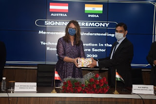 India & Austria Signed MoU on Technology Cooperation in Road Infrastructure