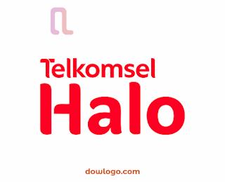 Logo Telkomsel Halo Vector Format CDR, PNG
