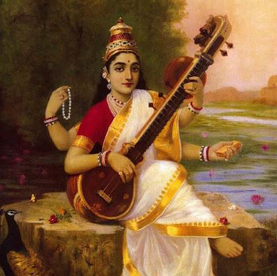 Picture Of Saraswati