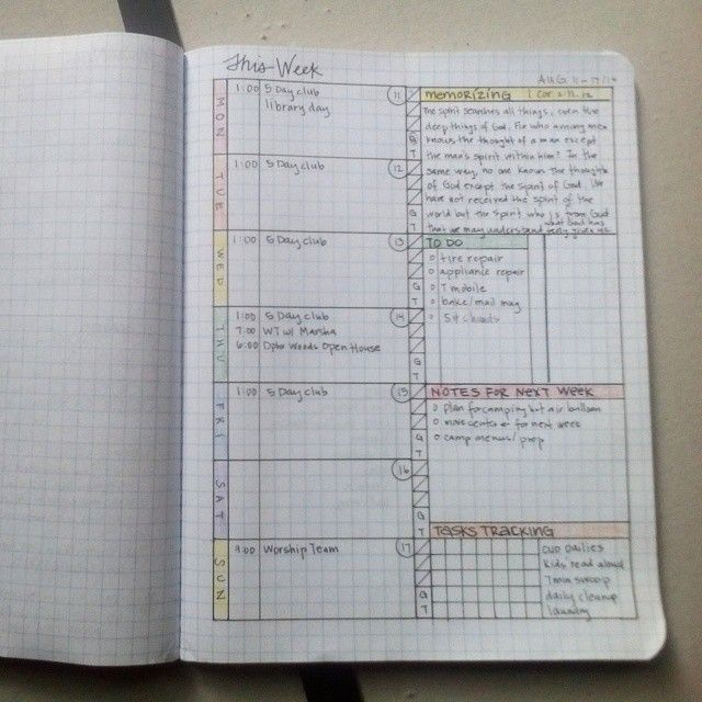 Bullet Journal Weekly And Daily Pages Izzaglino Pinay