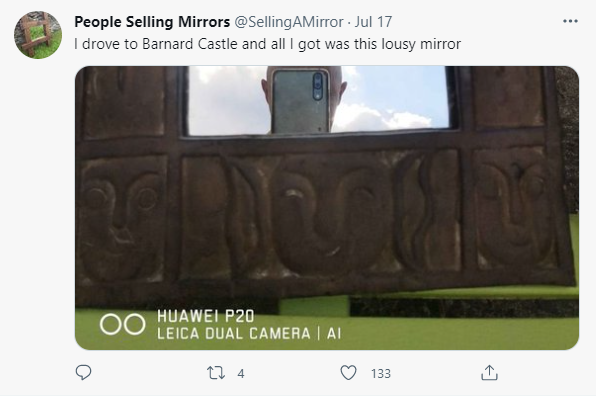 Why People Selling Mirrors