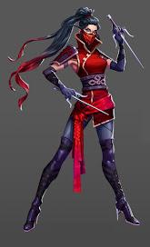 Garnet Legendary Ninja Hero