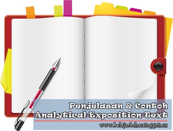 NAME: Arief Maulana Analytical Exposition Text