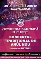 Castiga o invitatie dubla la concertul traditional de Anul Nou al Orchestrei Simfonice Bucuresti