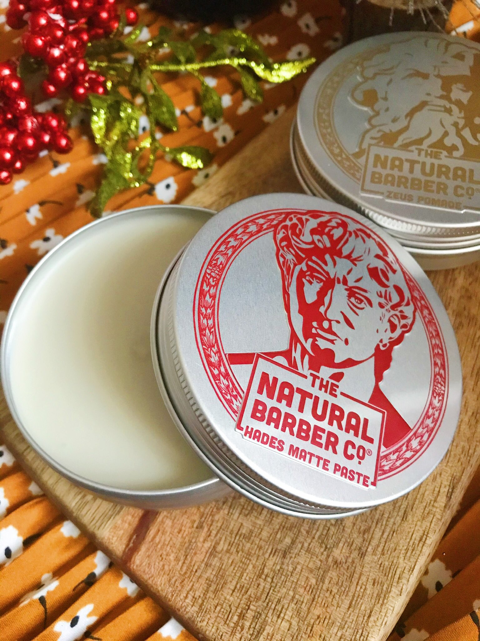 The Natural Barber Co hair wax