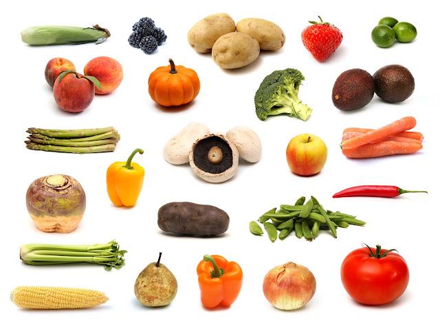 Tổng hợp rau, củ, quả - phần 01