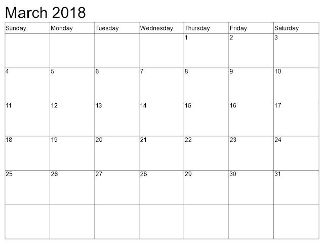 March 2018 Printable Calendar, March 2018 Blank Calendar, March 2018 Calendar Template, March 2018 Calendar Printable, March 2018 Calendar, March Calendar 2016, March Calendar, Print March Calendar 2018, Calendar 2018 March, March Templates Calendar 2018