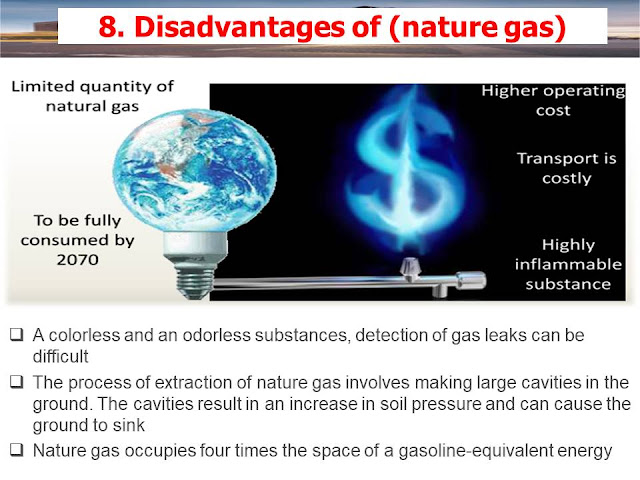 Disadvantages of CCPP (nature gas)