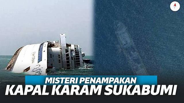 Heboh Gambar Kapal Karam Terekam Google Maps di Sukabumi!