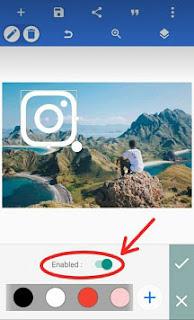 cara membuat efek glow di instagram kekinian