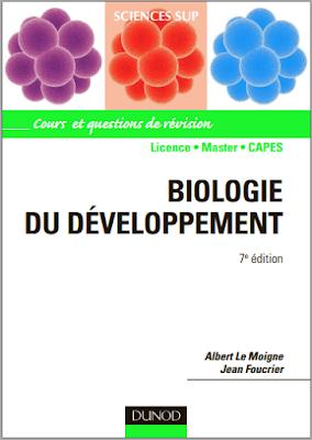 Biologie du développement 7e édition - Albert Le Moigne, Dunod PDF