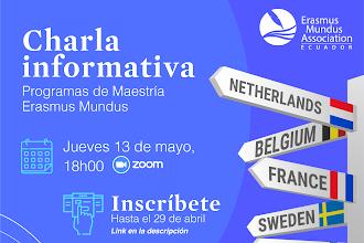 Erasmus Mundus- Charla Informativa Mayo