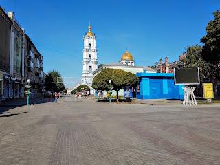 Суми. Пішохідна Соборна вулиця
