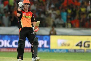David Warner 90* - SRH vs MI 12th Match IPL 2016 Highlights