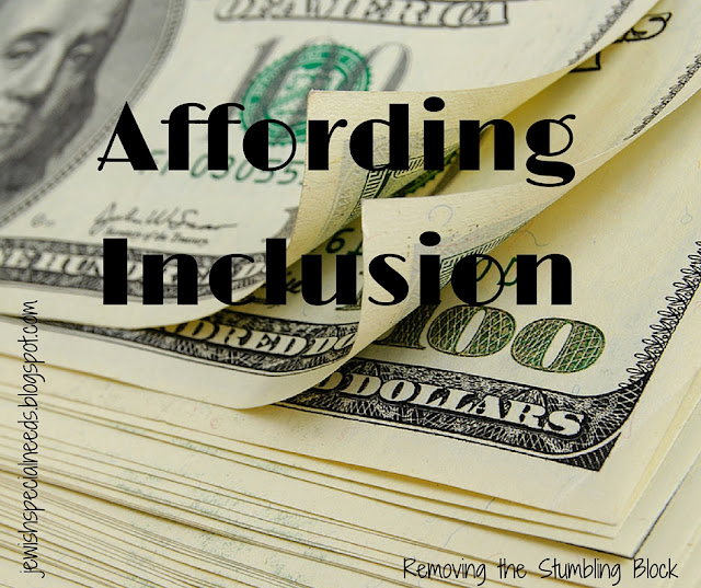Affording Inclusion, a two-part series; Removing the Stumbling Block