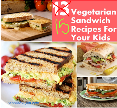 Vegetarian Sandwiches For youth