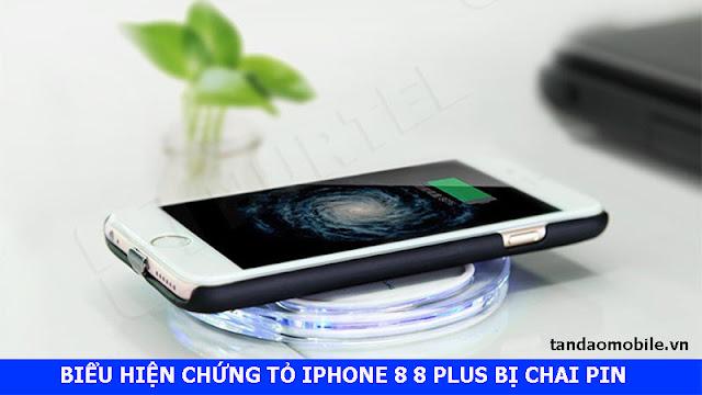 3 biểu hiện chứng tỏ iPhone 8 8 Plus bị chai pin