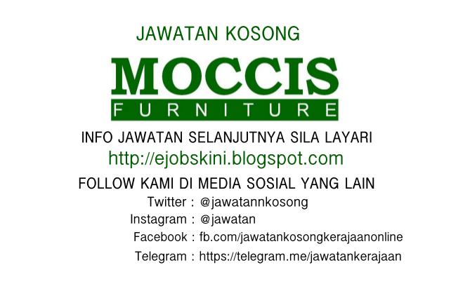 Jawatan Kosong Moccis