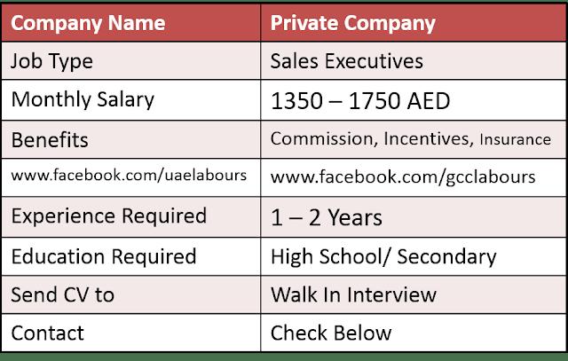 Dubai Jobs, UAE Jobs, Abu Dhabi Jobs, Sales Jobs