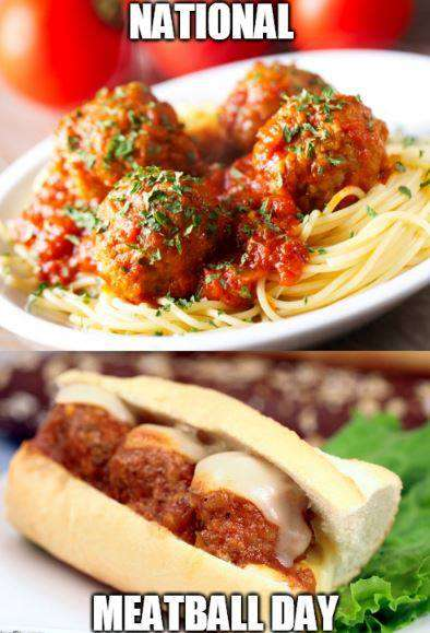 National Meatball Day Wishes pics free download